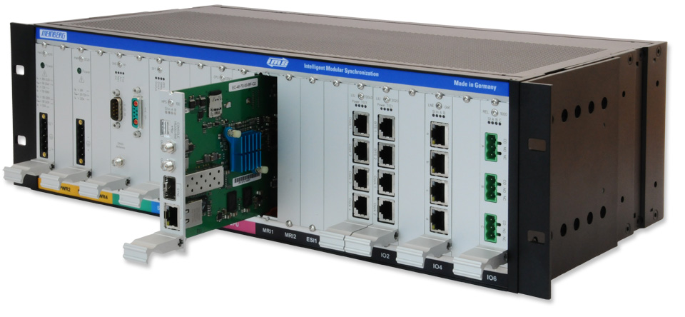 M3000 - Modular Time Server in 3U Rackmount Chassis