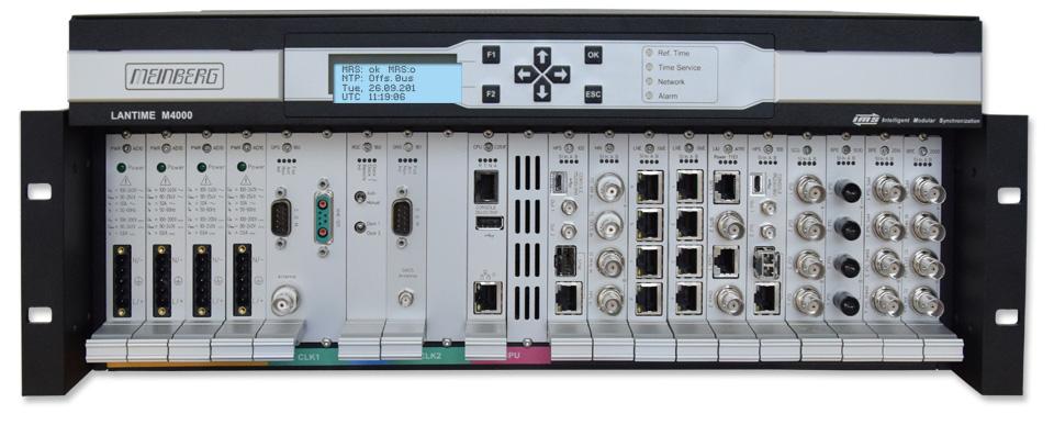 M4000 - Ultra-Versatile Platform for Telecom Synchronisation