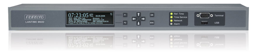 M1000 Modular Time Server With Integrated Gnss Receiver